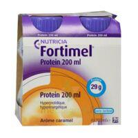Fortimel Protein Nutriment caramel 4 Bouteilles/200ml à CHENÔVE