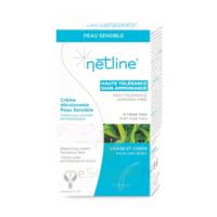 Netline Crème visage/corps décolorante peau sensible 30+30ml à CHENÔVE