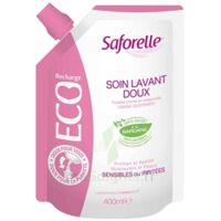 Saforelle Solution soin lavant doux Eco-recharge/400ml à CHENÔVE