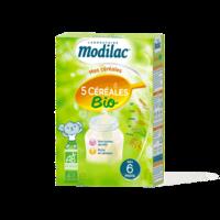 Modilac Céréales Farine 5 Céréales bio à partir de 6 mois B/230g à CHENÔVE