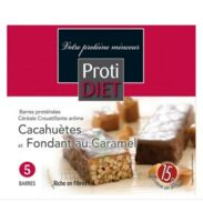 Protidiet Barres Céréales Cacahuète/Caramel B/5 à CHENÔVE