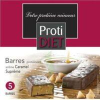 Protidiet - Barres Céréales Caramel Suprême B/5 à CHENÔVE