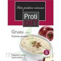 Protidiet - Gruau Arôme Pomme-cannelle B/5 à CHENÔVE