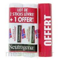 Neutrogena Stick Lèvres lot de 3