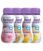Fortimel Protein Nutriment multi saveurs caramel/vanille/fraise/mangue 4 Bouteilles/200ml à CHENÔVE