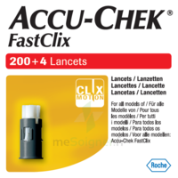 Accu-chek Fastclix Lancettes B/204 à CHENÔVE