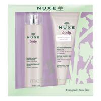 Nuxe Body Eau Délassante Parfumante Spray/100ml+gel Douche à CHENÔVE
