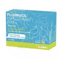 Fluimucil Expectorant Acetylcysteine 600 Mg Glé S Buv Adultes 10sach à CHENÔVE