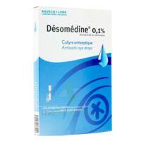 Desomedine 0,1 % Collyre Sol 10fl/0,6ml à CHENÔVE