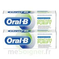 Oral B Gencives Purify Dentifrice 2*T/75ml à CHENÔVE