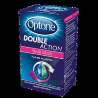 Optone Double Action Solution Oculaire Yeux Secs Fl/10ml Promo à CHENÔVE