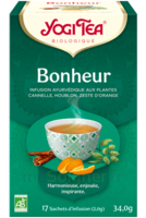 Yogi Tea Tisane Ayurvédique Bonheur Bio 17 Sachets/1,8g à CHENÔVE