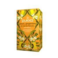 Pukka Bio Citron, Gingembre Et Miel De Manuka Tisane Immunité Citron Gingembre Miel De Manuka 20 Sachets à CHENÔVE