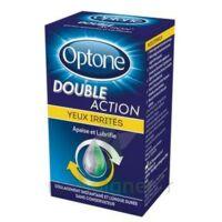 Optone Double Action Solution Oculaire Yeux Irrités Fl/10ml Promo à CHENÔVE