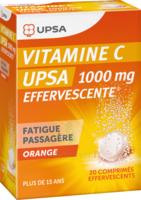 Vitamine C Upsa Effervescente 1000 Mg, Comprimé Effervescent à CHENÔVE
