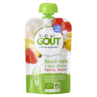 Good Goût Alimentation Infantile Brassé Avoine Fraise Banane Gourde/90g à CHENÔVE