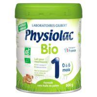 Physiolac Bio 1 Lait En Poudre B/800g à CHENÔVE